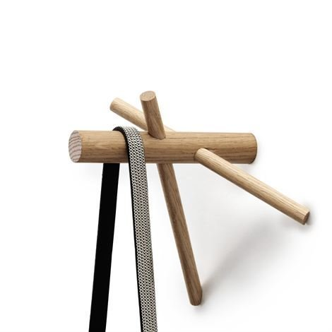 Normann Copenhagen Sticks Koukku Luonnonvärinen 2:N Pakkaus
