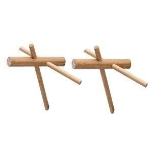 Normann Copenhagen Sticks Koukut Tammi 2 Kpl