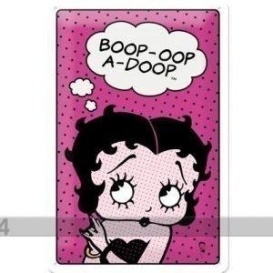 Nostalgic Art Retro Metallijuliste Betty Boop 20x30 Cm