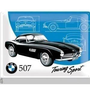 Nostalgic Art Retro Metallijuliste Bmw 507 Touring Sport 30x40 Cm
