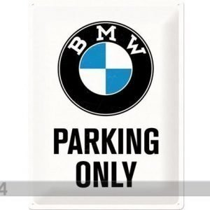 Nostalgic Art Retro Metallijuliste Bmw Parking Only 30x40 Cm