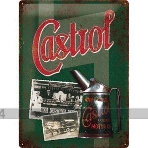 Nostalgic Art Retro Metallijuliste Castrol 30x40 Cm