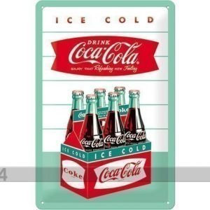 Nostalgic Art Retro Metallijuliste Coca-Cola Ice Cold 20x30 Cm