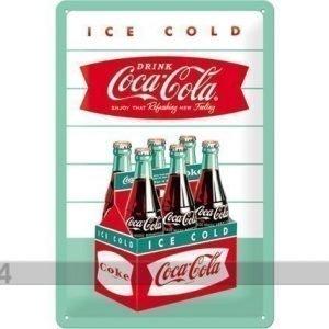 Nostalgic Art Retro Metallijuliste Coca-Cola Ice Cold 20x30 Cm