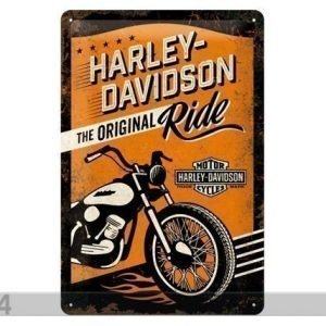 Nostalgic Art Retro Metallijuliste Harley-Davisonthe Original Ride 20x30 Cm