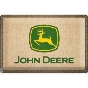 Nostalgic Art Retro Metallijuliste John Deere Logo 20x30 Cm