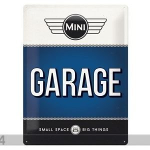Nostalgic Art Retro Metallijuliste Mini Garage 30x40 Cm