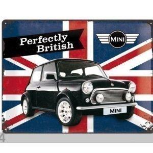 Nostalgic Art Retro Metallijuliste Mini Perfectly British 30x40 Cm