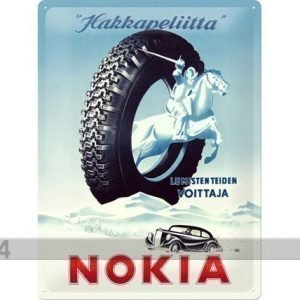 Nostalgic Art Retro Metallijuliste Nokia Hakkapeliitta 30x40 Cm