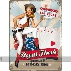 Nostalgic Art Retro Metallijuliste Royal Flash 30x40 Cm