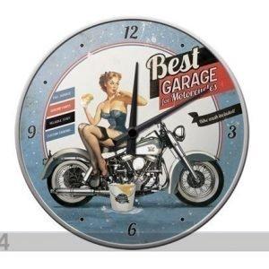 Nostalgic Art Retro Seinäkello Best Garage