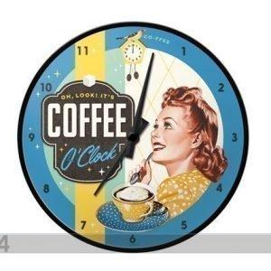 Nostalgic Art Retro Seinäkello Coffee O`Clock