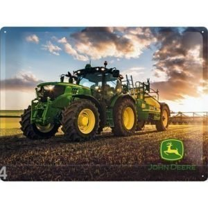 Nostalgic Art Retrometallijuliste John Deere Photo Model 6150 R 30x40 Cm