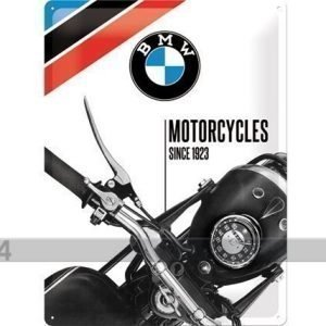 Nostalgic Art Retrotyylinen Metallijuliste Bmw Motorcycles Since 1923 30x40 Cm