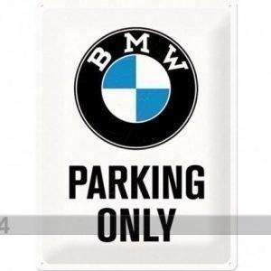 Nostalgic Art Retrotyylinen Metallijuliste Bmw Parking Only 30x40 Cm
