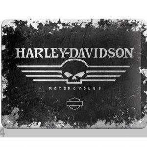 Nostalgic Art Retrotyylinen Metallijuliste Harley-Davidson 15x20 Cm
