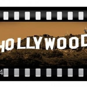 Nostalgic Art Retrotyylinen Metallijuliste Hollywood 20x30 Cm