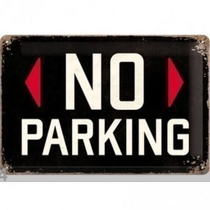 Nostalgic Art Retrotyylinen Metallijuliste No Parking 20x30 Cm