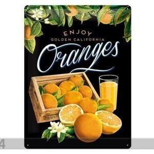 Nostalgic Art Retrotyylinen Metallijuliste Oranges Ii 30x40 Cm