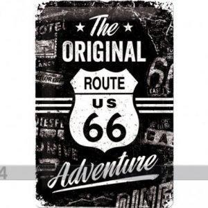 Nostalgic Art Retrotyylinen Metallijuliste Route 66 The Original Adventure 20x30 Cm