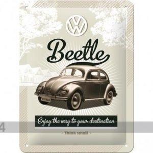 Nostalgic Art Retrotyylinen Metallijuliste Vw Beetle 15x20 Cm