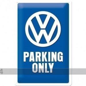 Nostalgic Art Retrotyylinen Metallijuliste Vw Parking Only 20x30 Cm