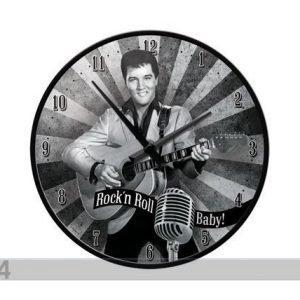 Nostalgic Art Retrotyylinen Seinäkello Elvis