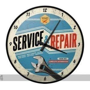 Nostalgic Art Retrotyylinen Seinäkello Service & Repair