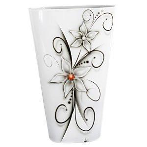 Nybro Crystal Crystal Ink Flower Maljakko