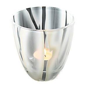 Nybro Crystal Salice Kynttilälyhty / Kulho Valkoinen 100x100 Mm