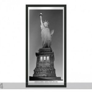 Og Taulu B&W New York Statue Of Liberty 23x50 Cm