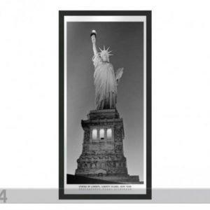 Og Taulu B&W New York Statue Of Liberty 23x50 Cm
