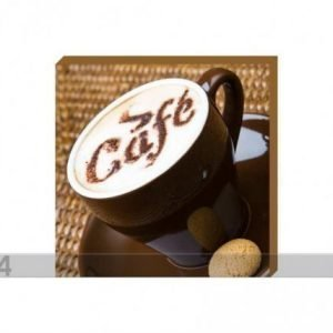 Og Taulu Canvas - A Cup Of Coffee With Ladyfingers2 50x50 Cm