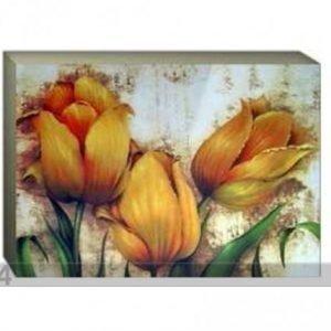 Og Taulu Canvas - Keltaiset Tulppaanit 70x100 Cm