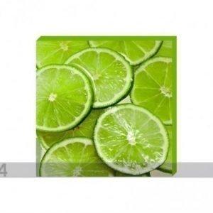 Og Taulu Canvas - Sliced Limes 50x50 Cm