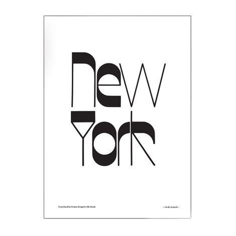 Olle Eksell New York Juliste 50x70 cm