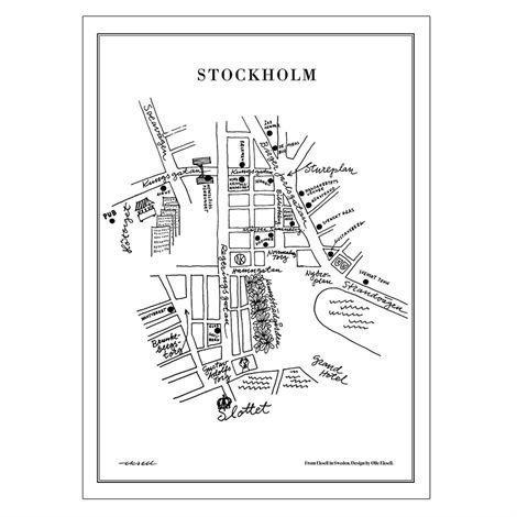 Olle Eksell Stockholm Juliste 50x70 cm