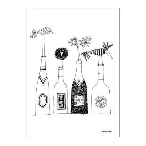 Olle Eksell Viini Juliste 50x70 cm