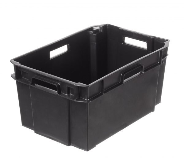 Orthex Varastolaatikko Musta 38 L