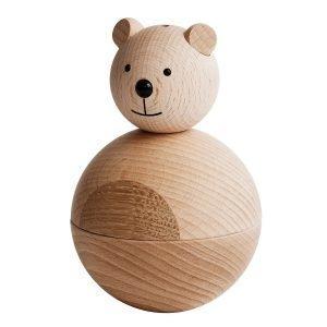 Oyoy Bear Puuhahmo Luonnonväri