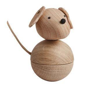 Oyoy Leika Dog Puuhahmo Luonnonväri