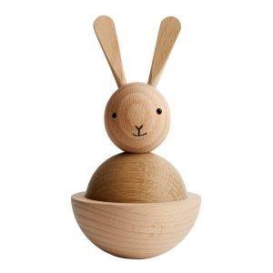 Oyoy Rabbit Puuhahmo Luonnonväri