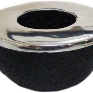 PR Home Ambience Kynttilänjalka Musta 9 cm