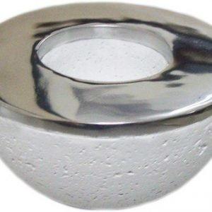 PR Home Ambience Kynttilänjalka Valkoinen 9 cm