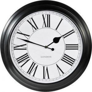 PR Home Klocka London Musta 46 cm