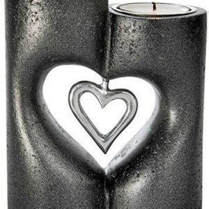 PR Home Love Seisova Kynttilänjalka Musta 13 cm