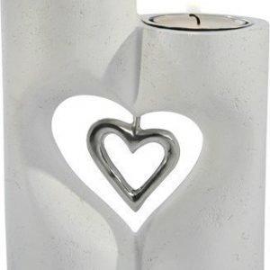 PR Home Love Seisova Kynttilänjalka Valkoinen 13 cm