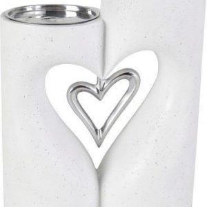 PR Home Love XL Kynttilänjalka Valkoinen 24 cm