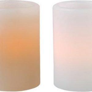 PR Home Vahakynttilä LED Valkoinen/Luunvalkoinen 5x7 cm