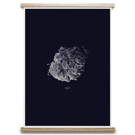 Paper Collective 1:1 Hail Stone Juliste 50x70 cm